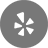 yelp-48-48x48 grey